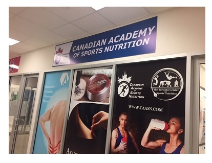 caasn Canadian Academy of Sports Nutrition contact us